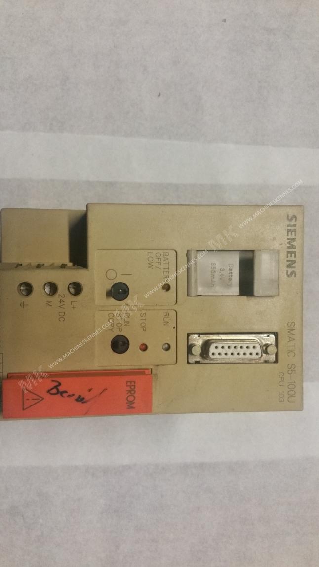 Simatic S5-100U CPU 103 - Siemens - Electrical Components